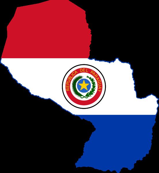 MapaBanderaParaguay